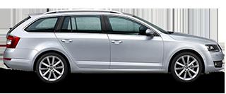 Pronájem vozidla Škoda Octavia III